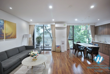 A brightly serviced apartment for rent in Tay Ho area
